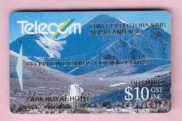 New Zealand - Private Overprint - 1993 Kiwi Collectors Fair $10 - FU - NZ-PO-30 - Nuova Zelanda