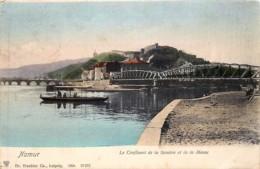 Namur - Edit. Trenkler N° 27073 - Le Confluent De La Sambre Et De La Meuse - Namur