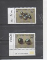 POLYNESIE Française - Perles De Tahiti : Perles Noires - Paire De Perles, Ensembles De 8 Perles - Bijoux, Bijouterie - - Polynésie Française