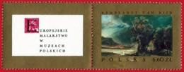 Polonia. Poland. 1967. Mi 1815. Rembrant Van Rijn. Landscape (from The Good Samaritan) - Arte