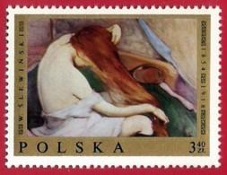 Polonia. Poland. 1969. Mi 1946. Woman Combining Her Hair, By Wladyslaw Slewinski - Impresionismo