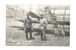 LUGRIN + KANEL 1915 SUISSE AVIATION CARTE PHOTO /FREE SHIPPING REGISTERED - Aviateurs