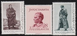 Yuguslavia      .      Yvert    .    607/609    .    *    .    Ungebraucht Mit Falz    .   /    .     Mint-hinged - 1945-1992 República Federal Socialista De Yugoslavia