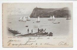 Bradda Head, Port Erin - Undivided Back - Tuck Individual Number 3227 - Isle Of Man