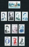 Tierras Australes Francesas LOTE (11 Series Diferentes) Nuevo - Collections, Lots & Séries