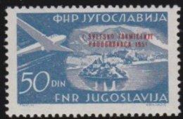 Yuguslavia   .    Yvert  .   Airmail   46   .     *    .     Ungebraucht Mit Falz  .   /   .   Mint-hinged - Airmail