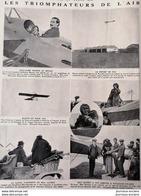 1912 LES TRIOMPHATEURS DE L'AIR - MISS QUIMBY - GUILLAUME BUSSON - LES DERNIERS ACCIDENTS DE L'AIR - VERREPT - LELOUP - Livres, BD, Revues
