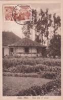 CPA Ethiopie / Etiopia - Addis Abeba - Case Fra Il Verde - 1937 - Ethiopia