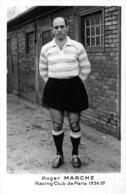 FOOTBALL-ROGER MARCHE - RACONG CLUB DE PARIS 1956-57 - Sports