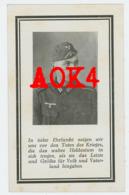 NAMUR Belgrade 1943 Sterbebild Doodsprentje Carte De Deces Wehrmacht Thomas Kochem Lommel - 1939-45