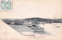 CPA Angola - Mossamedes Praia Da Torre Di Tombo - 1907 - Timbre Mozambique - Angola