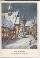 AK-div.31- 463a   Weihnachts Neujahrskarte - Kerstmis
