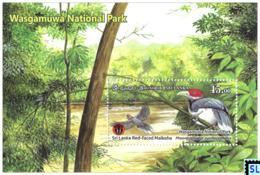 Sri Lanka Stamps 2019, Wasgamuwa National Park, Bird, MS - Sri Lanka (Ceylon) (1948-...)