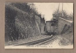 CPA 52 - LANGRES - La Crémaillère - TB PLAN TRAMWAY Wagon Arrière Avec ANIMATION Conducteur - Langres