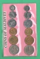 Maldives 12 Coins Da 1 Laari > 1 Rufyaa  X Turist - Maldivas