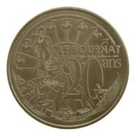 Monnaie De Paris , 2013 , Le Bugue-sur-Vézère , Le Bournat , 20 Ans , La Roue - Monnaie De Paris