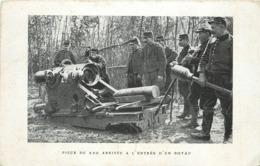 GUERRE 1914/18 -  Pièce De 220 Abritée à L'entrée D'un Boyau, Cachet Hôpital Auxiliaire N°24 Gien Briare. - Guerre 1914-18
