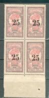 MARTINIQUE ; Colonie ; 1920 ; Y&T N° 85 ; Bloc De 4 ; Neuf Ttbe - Nuevos