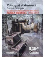Ref. 274977 * MNH * - ANDORRA. Spanish Adm.. 2012. CENTRO DEL TRATAMIENTO DEL HIERRO-FARGA ROSELL - Minerals