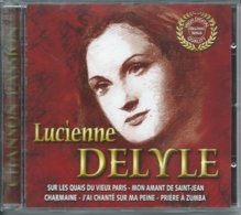 Lucienne Delyle 17 Titres -  CD  TBE - New Age