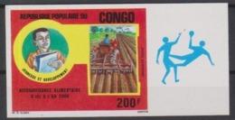Congo  Hand Ball On Margin Imperforate  MNH** - Handball