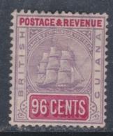 Guyana N° 79 X Armoiries 96 C. Violet Et Carmin  Trace De Charnière Très Léger Aminci Sinon TB - British Guiana (...-1966)