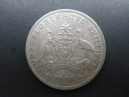 Australia 1 Florin 1936 George V - Moneda Pre-decimale (1910-1965)