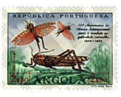 Ref. 72530 * MNH * - ANGOLA. 1963. LUCHA CONTRA EL SALTAMONTES ROJO - Spiders