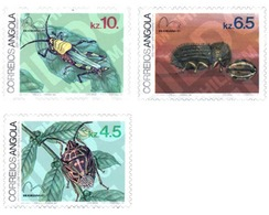 Ref. 72547 * MNH * - ANGOLA. 1983. INSECTS . INSECTOS - Angola
