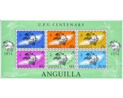 Ref. 281831 * MNH * - ANGUILLA. 1974. CENTENARIO DE LA UPU - U.P.U.