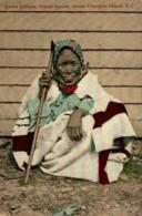QUEEN JOHNNIE, INDIAN SQUAW, QUEEN CHARLOTTE ISLAND, B. C. - INDIO // INDIAN // INDIEN - Indios De América Del Norte