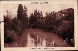Cp Sémalens Tarn, Rives Du Sord - Francia