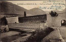 Cp Aspres Sur Buech Hautes Alpes, Pont Sur Le Buech - Autres Communes