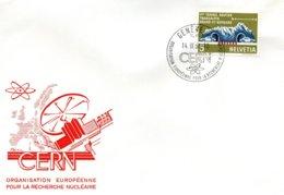 V16  Suisse - Organisation Européenne Pour La Recherche Nucléaire / CERN - Genève - 1964 - 14/9/1964  TTB - Lettres & Documents