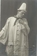 SUPERBE PHOTO DEDICACEE - Artiste Ténor FERNAND ANSSEAU - 1919 - Künstler