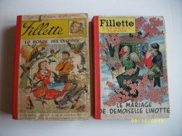 Lot De 2 Albums FILLETTE - Boeken, Tijdschriften, Stripverhalen