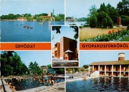Gyopárosfürdő Mehrbildkarte Ca 1980 - Ungarn