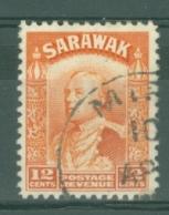Sarawak: 1934/41   Charles Vyner Brooke    SG114a     12c   Orange   Used - Sarawak (...-1963)