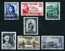 Italia LOTE (7 Series Diferentes) Usado Cat.30,50€ - 1946-.. République