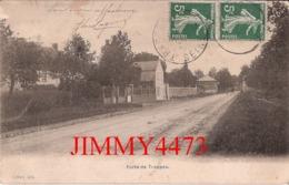 CPA - TRAPPES 78 Yveline - Porte De Trappes En 1909 - Imp. A. Breger Frères Paris - Edit. Lefèvre - Trappes