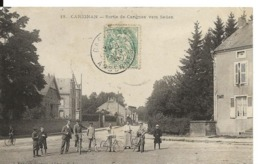 Ardennes CARIGNAN  Sortie De Carignan Vers Sedan Animation Edt Suzaine Pierson  ...G - Other Municipalities