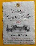 11839 - Château Prieuré-Lichine 1985 Margaux - Bordeaux