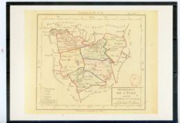 1ère Carte Des Départements.Cliché Bibliothèque Nationale. Editions 1789.Angoulême - France