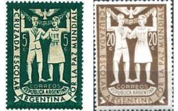 Ref. 32340 * MNH * - ARGENTINA. 1947. CRUZADA ESCOLAR PARA LA PAZ - Nuovi