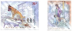 Ref. 149263 * MNH * - ARGENTINA. 2004. WORKING DOGS . PERROS DE TRABAJO - Briefmarken