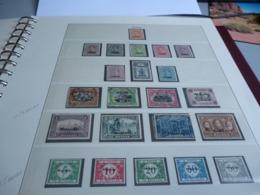 BELGIQUE MALMEDY  N°22  à 35  + TAXE N° 6  à 10 - Weltkrieg 1914-18