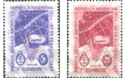 Ref. 283152 * MNH * - ARGENTINA. 1947. 43 ANIVERSARIO DEL PRIMER CORREO ANTARTICO ARGENTINO - Filatelia Polar