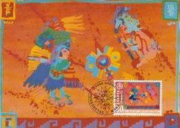 LIECHTENSTEIN Maximum Card 1033 - Europa-CEPT