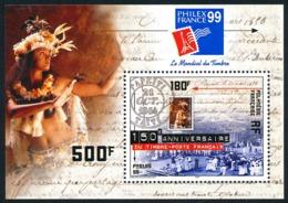 POLYNESIE 1999 - Yv. BF 24 (602) ** SUP  Faciale= 4,20 EUR - Expo Phil. Philexfrance'99  ..Réf.POL24268 - Blocks & Kleinbögen