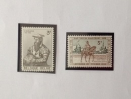 PDG. Cl1. P44.5.  Fraîcheur Postale. Sans Charnière. COB. 1212 >>> 1213 - Unused Stamps